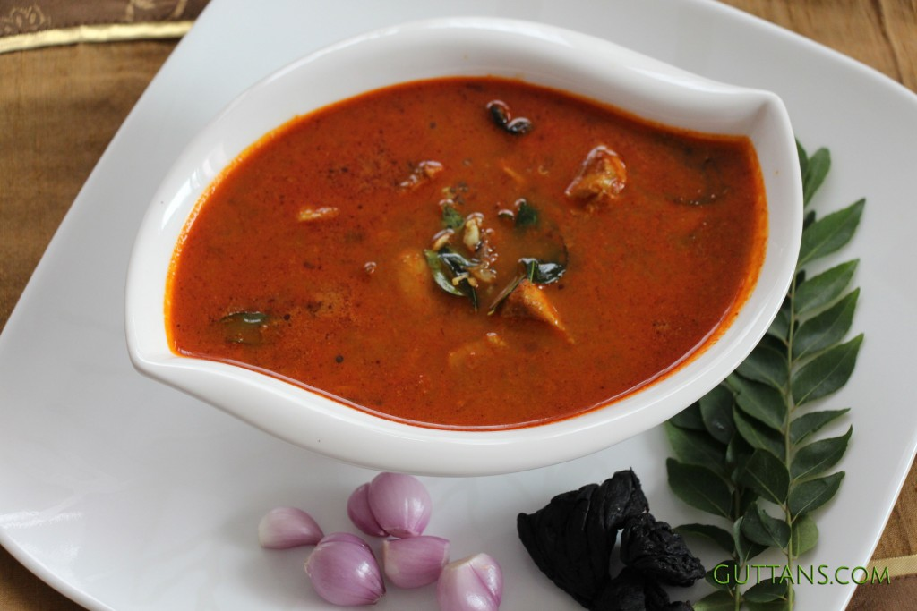 Kerala Gambooge Fish Curry