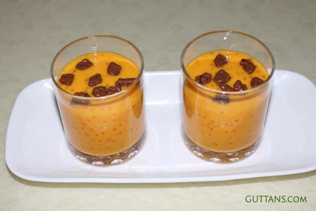 Mango Sago Dessert