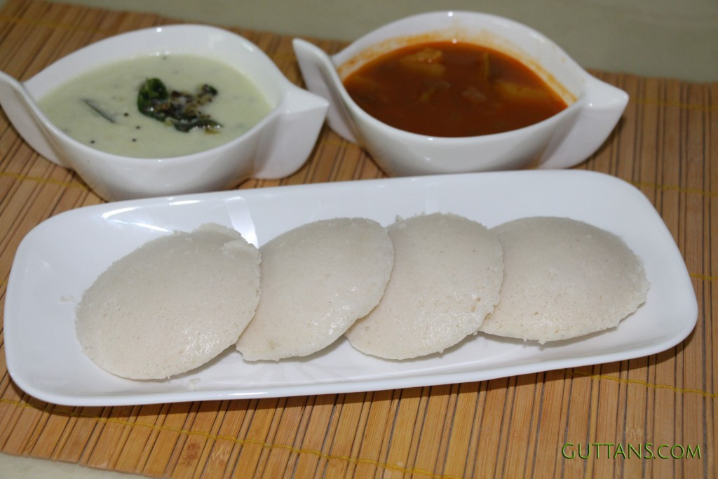 Idli Steamed Rice Cake Recipe