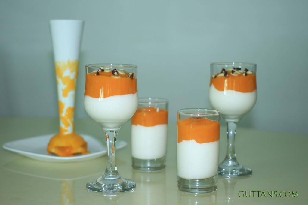 Mango Yoghurt Verrines