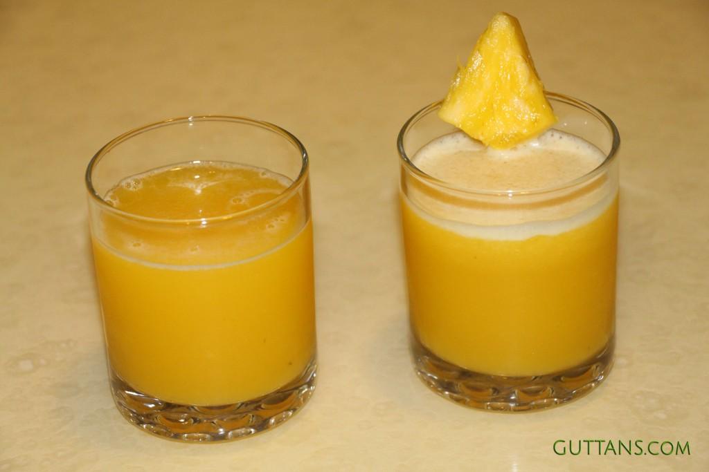 Apple Ginger Pineapple Juice