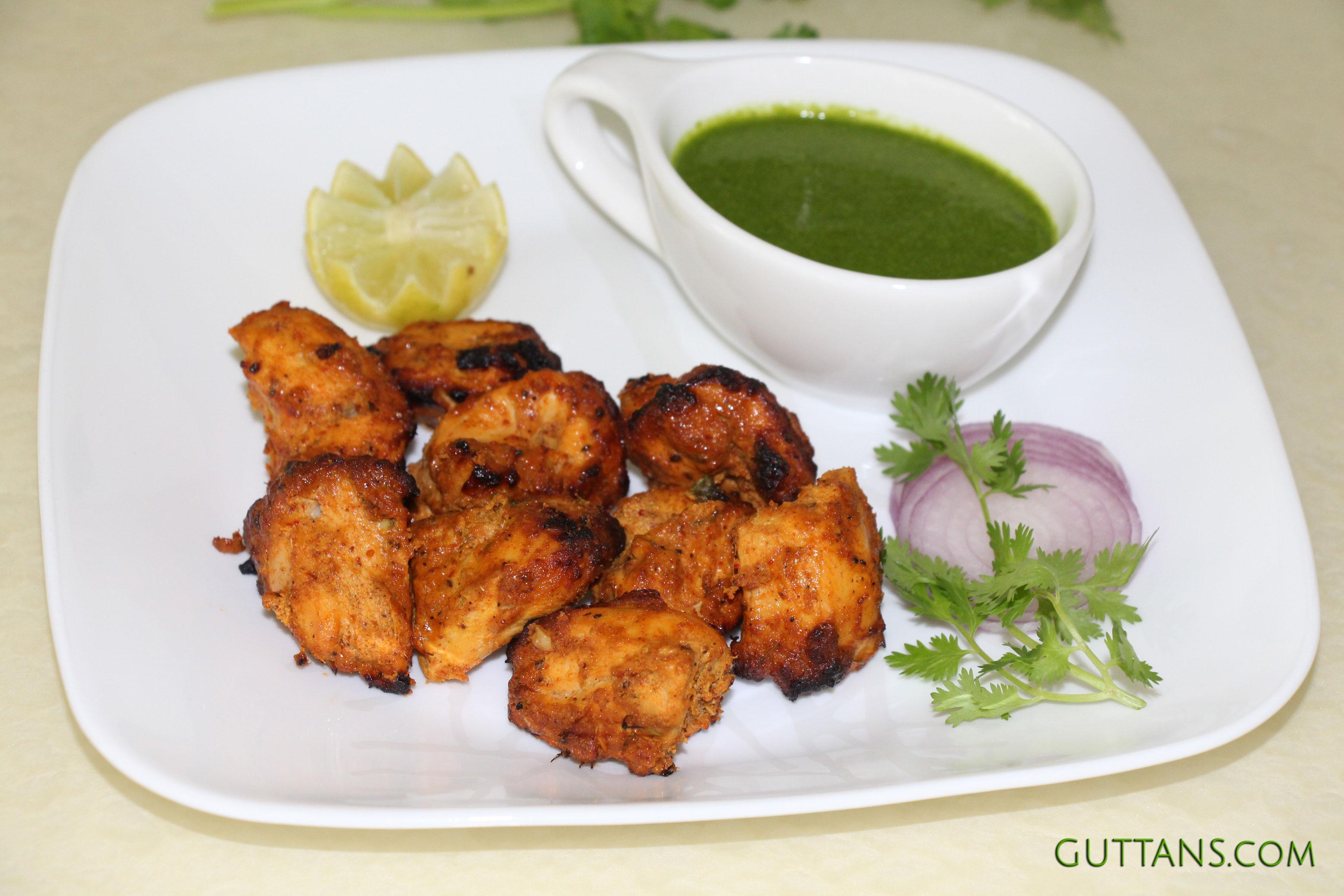 Chicken Tikka Kabab Murg Kebab