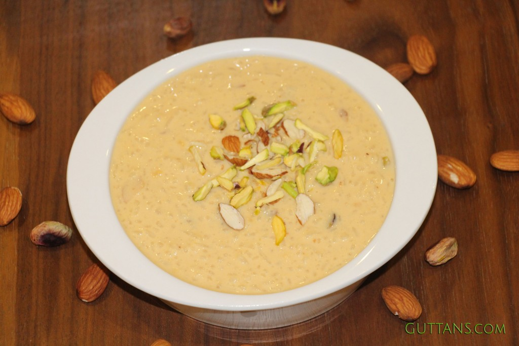 Rice Kheer Pudding