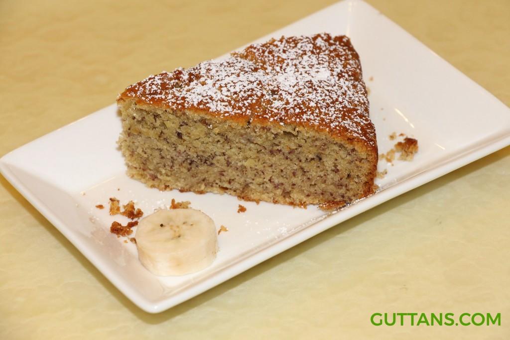 Whole Wheat Banana Cake Recipe