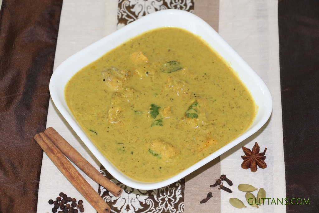 Kerala Chicken Curry Stew