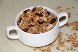 Cranberry Nut Granola