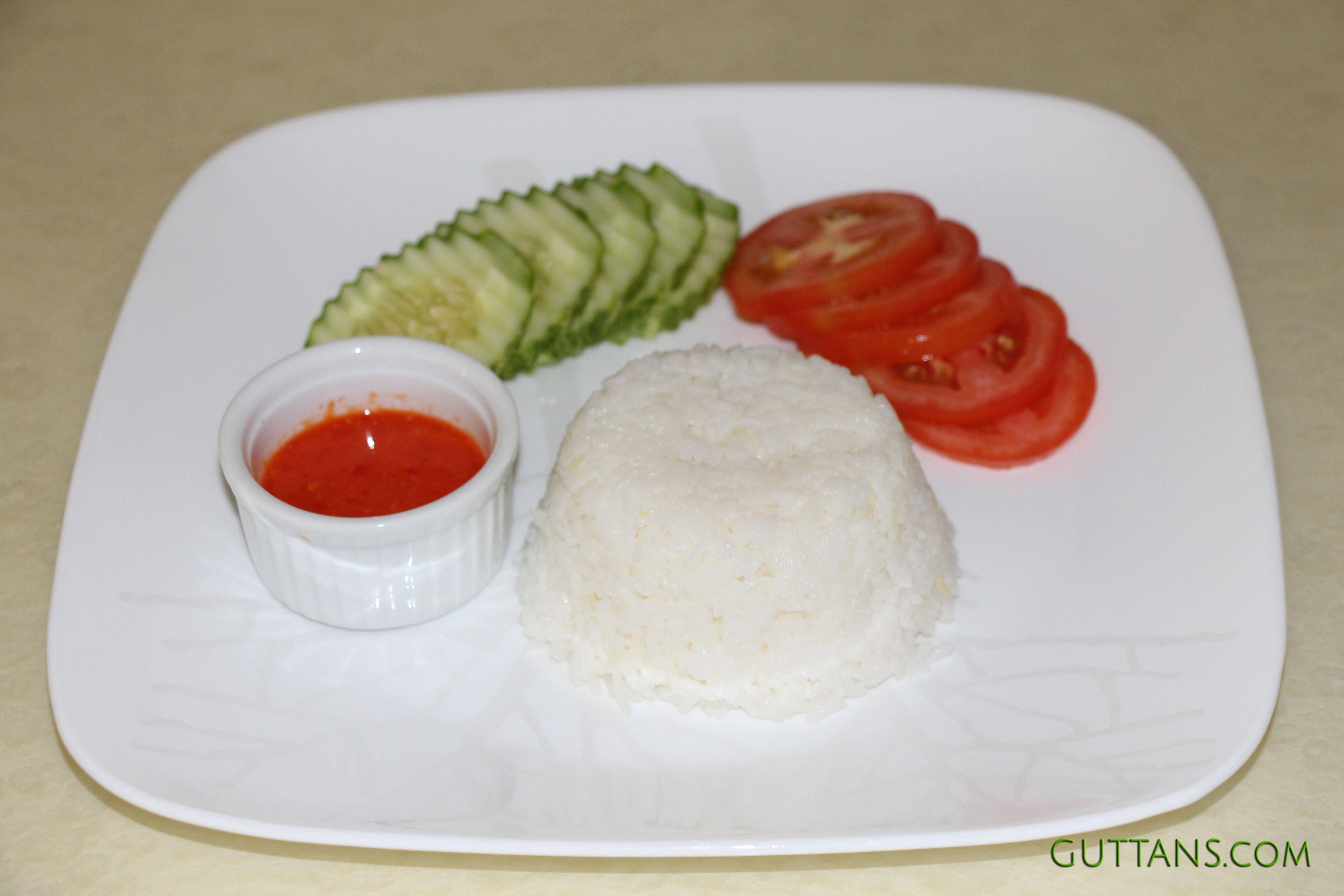 Hainanese Vegetarian Rice