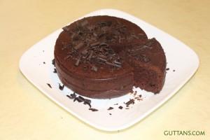 Dark Secret Chocolate Cake