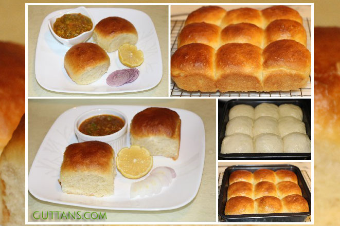 Pav Bread Making