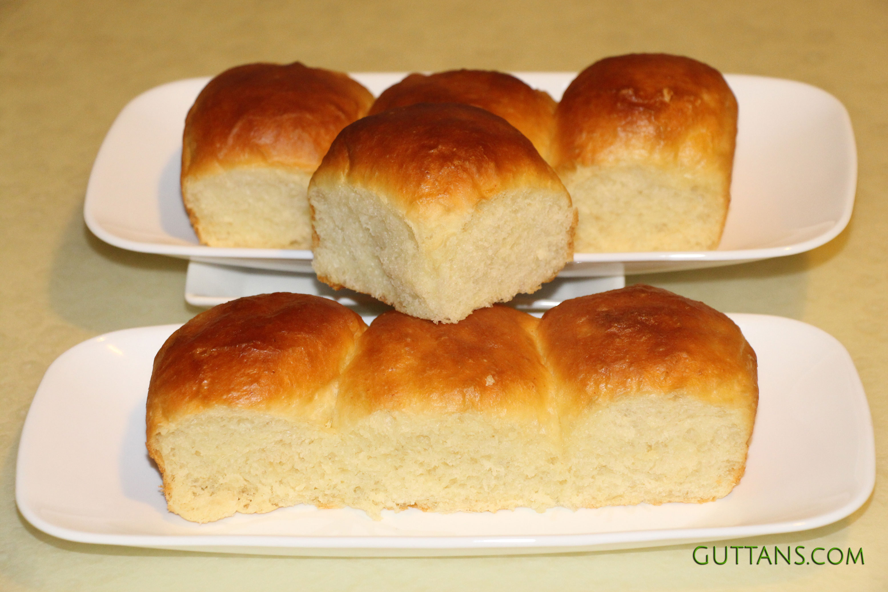 Pav Buns Dinner Bread Rolls