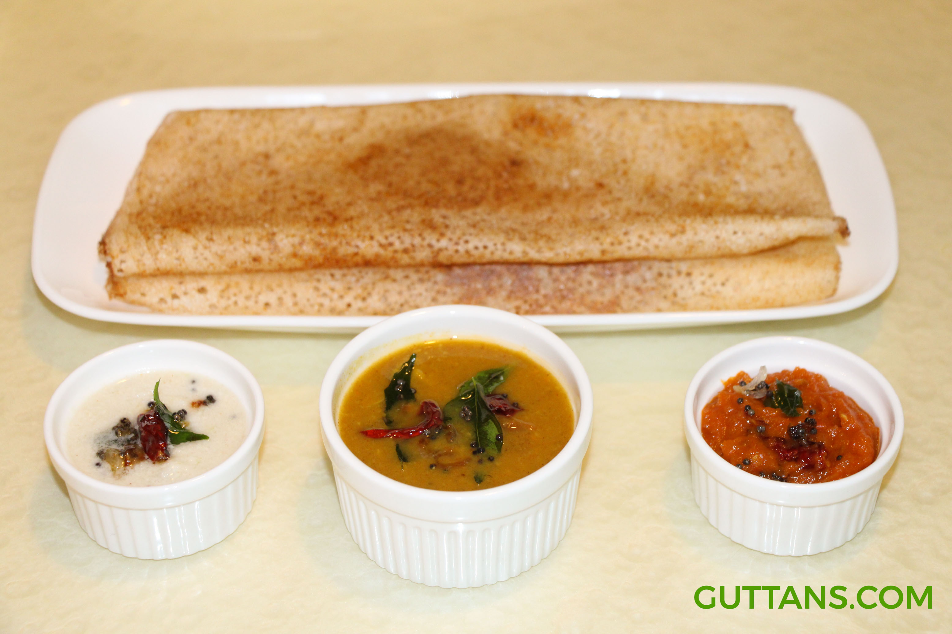 Ghee Roast Dosa Recipe